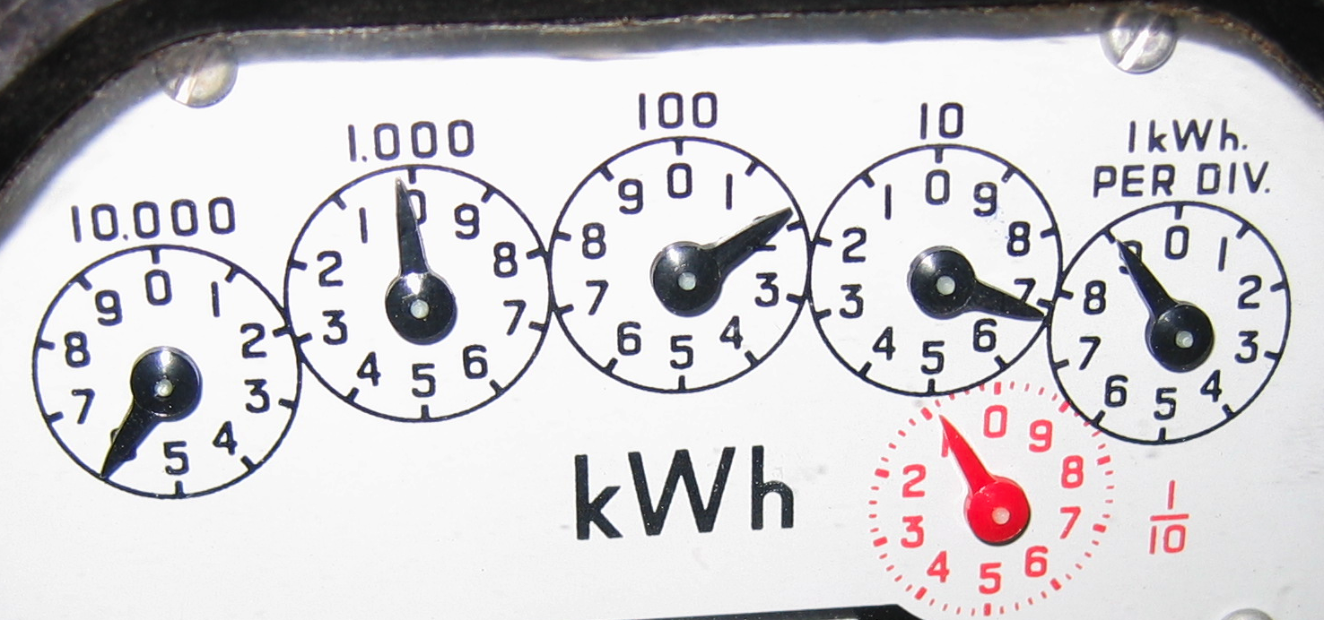 Utility Meter Analog : Types of electricity meters