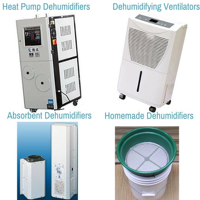 Home-Made Dehumidifiers